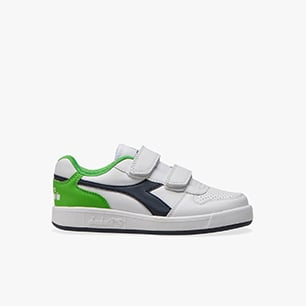 PLAYGROUND PS, WHITE/BLACK IRIS/CLASSIC GREEN, medium