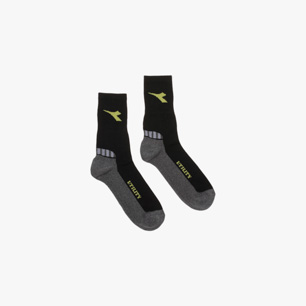 COTTON SUMMER SOCKS, BLACK/GREY, medium