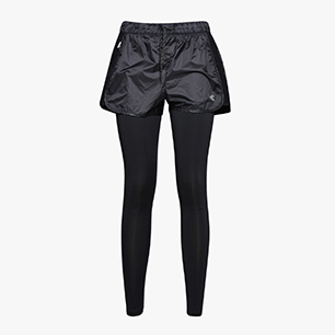 L. TIGHT SHORTS TWO IN ONE, BLACK, medium