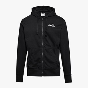 HD FZ JACKET CHROMIA, BLACK, medium