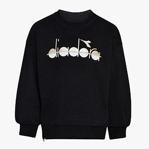 JG.SWEATSHIRT CREW 5PALLE, NEGRO, medium