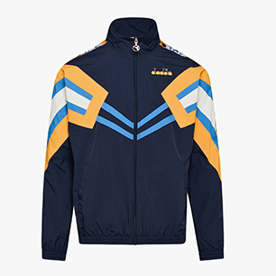 TRACK JACKET MVB, BLUE NIGHTS/ORANGE ZINNIA, medium