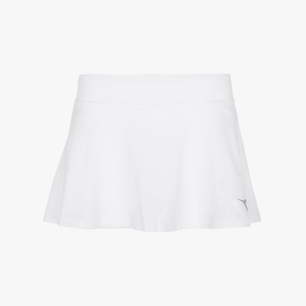 G. SKIRT COURT, OPTICAL WHITE, medium