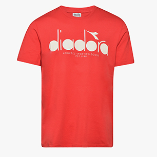 SS T-SHIRT 5PALLE OC, TOMATO RED, medium