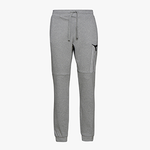 CUFF PANTS FREGIO, LIGHT MIDDLE GREY MELANGE , medium