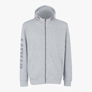 SWEATSHIRT THUNDER II, LIGHT MIDDLE GREY MELANGE, medium