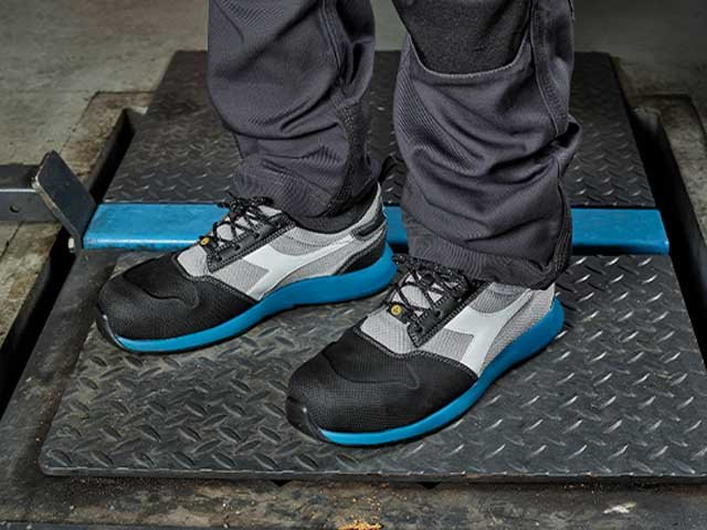 Low Working Shoes for Accident Prevention  Diadora